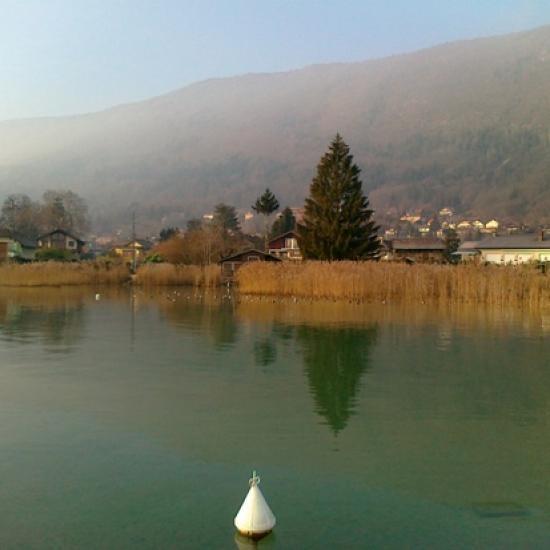 Lac et Roselière sur Sévrier